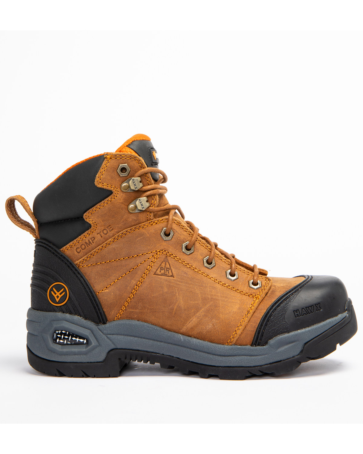 4ef40f249ba874 Hawx® Men s Lace To Toe Hiker Boots - Round Toe