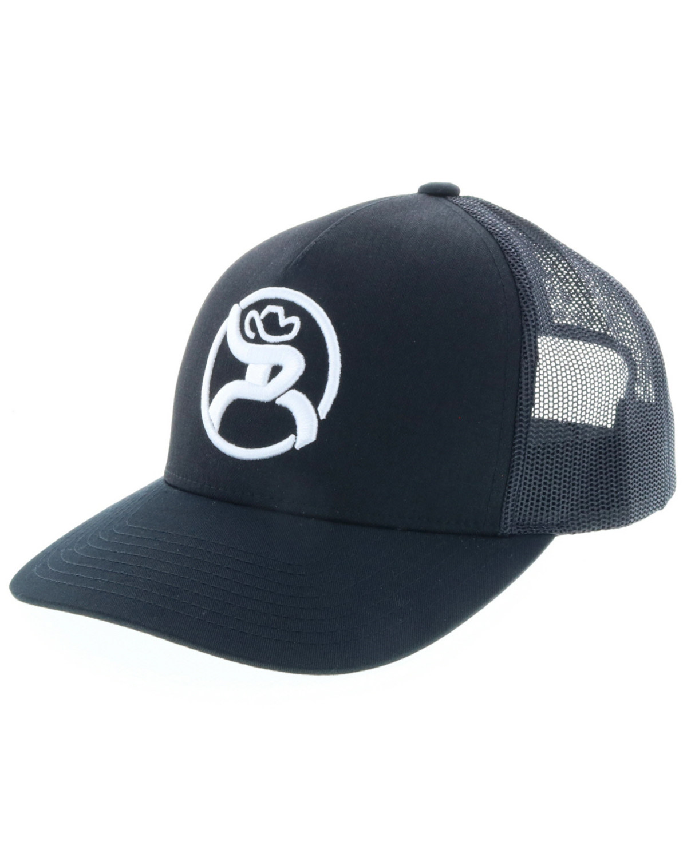 c9e1106055143 ... clearance hooey mens black roughy 2.0 trucker cap black 8de57 34273