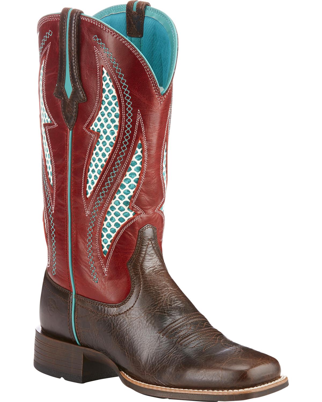 965ffc2c337 Ariat Women's VentTEK Ultra Cowgirl Boots - Square Toe