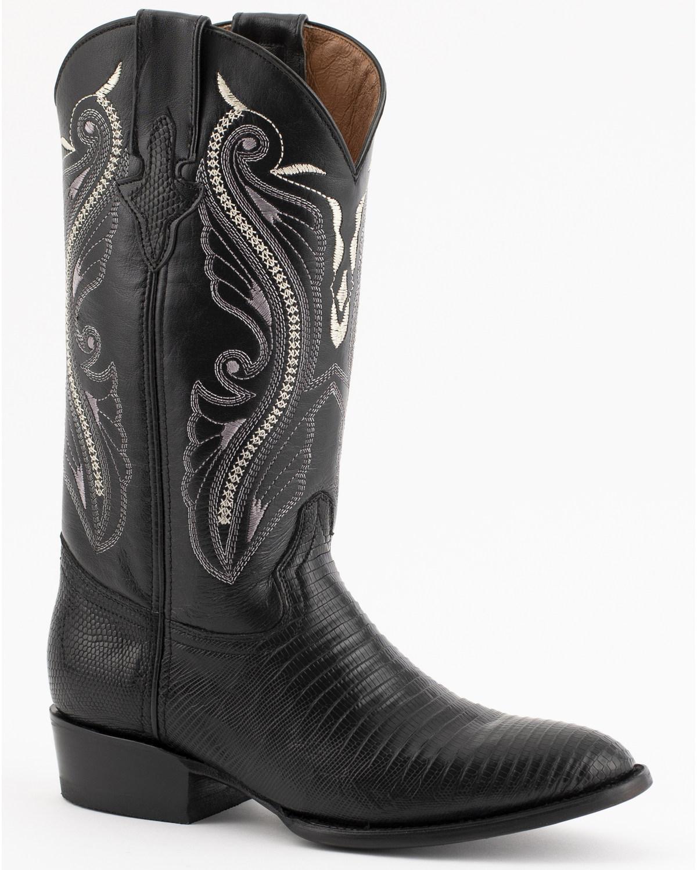 Ferrini Men S Teju Lizard Exotic Western Boots Boot Barn