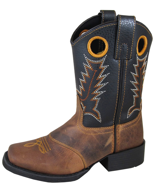Smoky Mountain Boys Luke Western Boot Square Toe