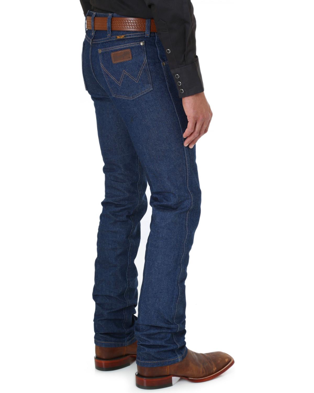 99aebfa1 Wrangler Men's Slim Fit Premium Perfomance Jeans, Indigo, hi-res