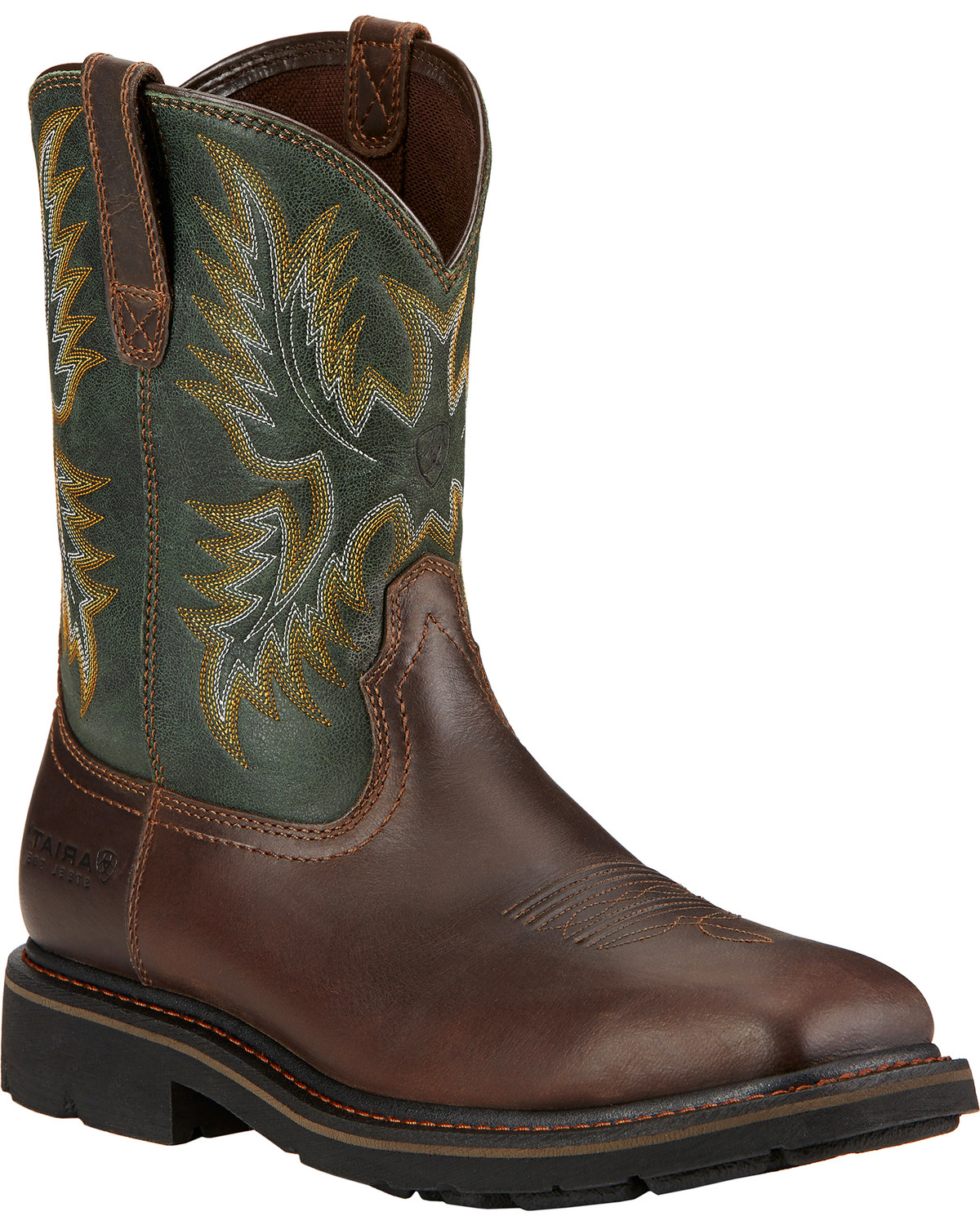 2448202154b Ariat Men's Sierra Steel Toe Work Boots