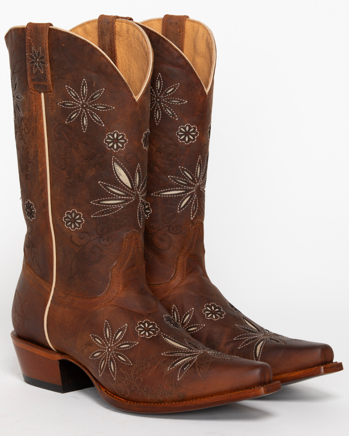 8d3b0de04 Zoomed Image Shyanne® Women's Daisy Mae Western Boots, Distressed Brown, ...