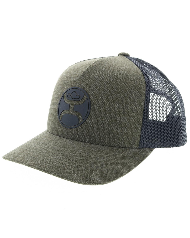 HOOey Men s Moss Logo Trucker Cap  d63a9a3abf4