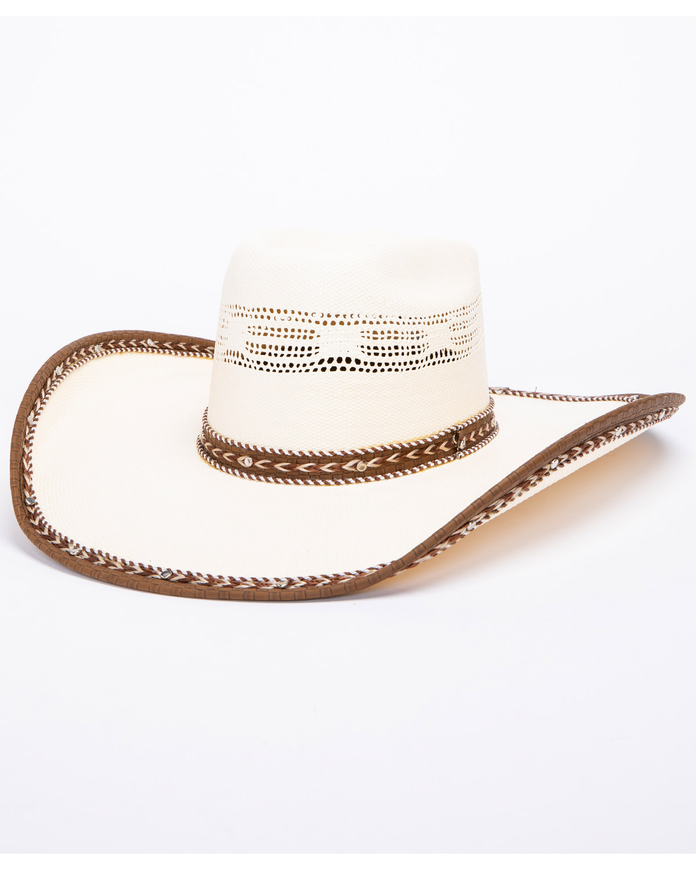 e9e1d3df20b32 Bullhide Leather Neck 20X Bangora Straw Cowboy Hat