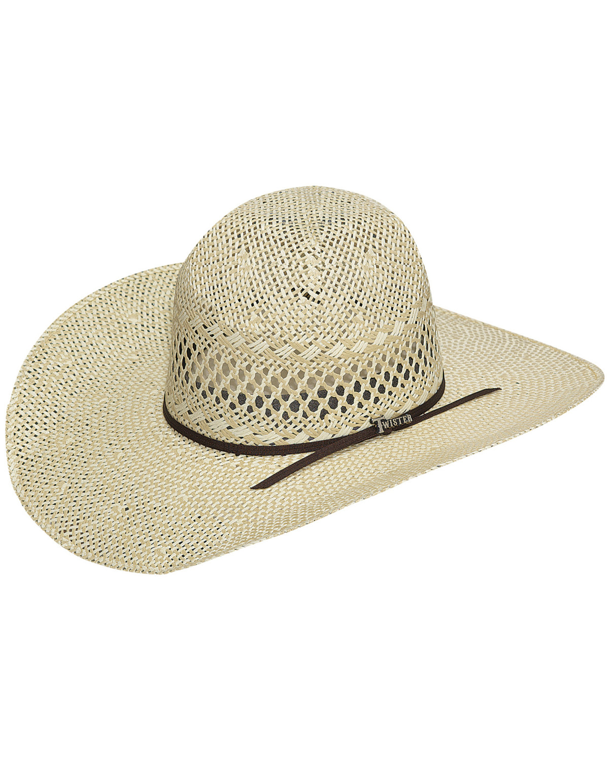 Twister Men s Twisted Weave Straw Cowboy Hat  78a62ada0e1f