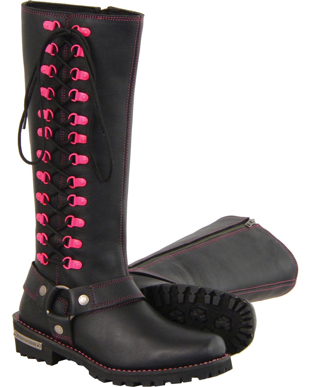 3f344be2802 Milwaukee Leather Women's Black 14