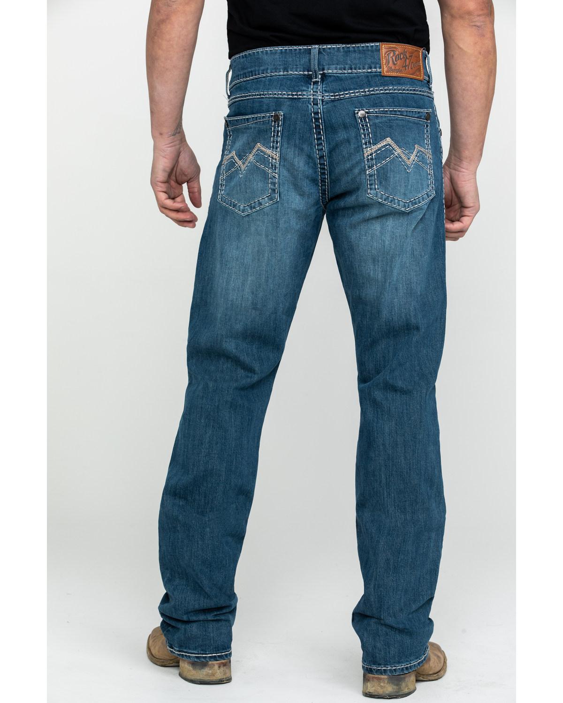 Wrangler Rock 47 >> Rock 47 By Wrangler Men S Voice Medium Slim Boot Jeans