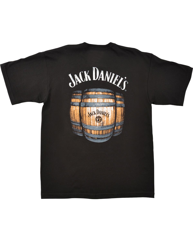 f7e43bfcc0 Zoomed Image Jack Daniel's Short Sleeve Graphic Tee, Black, ...
