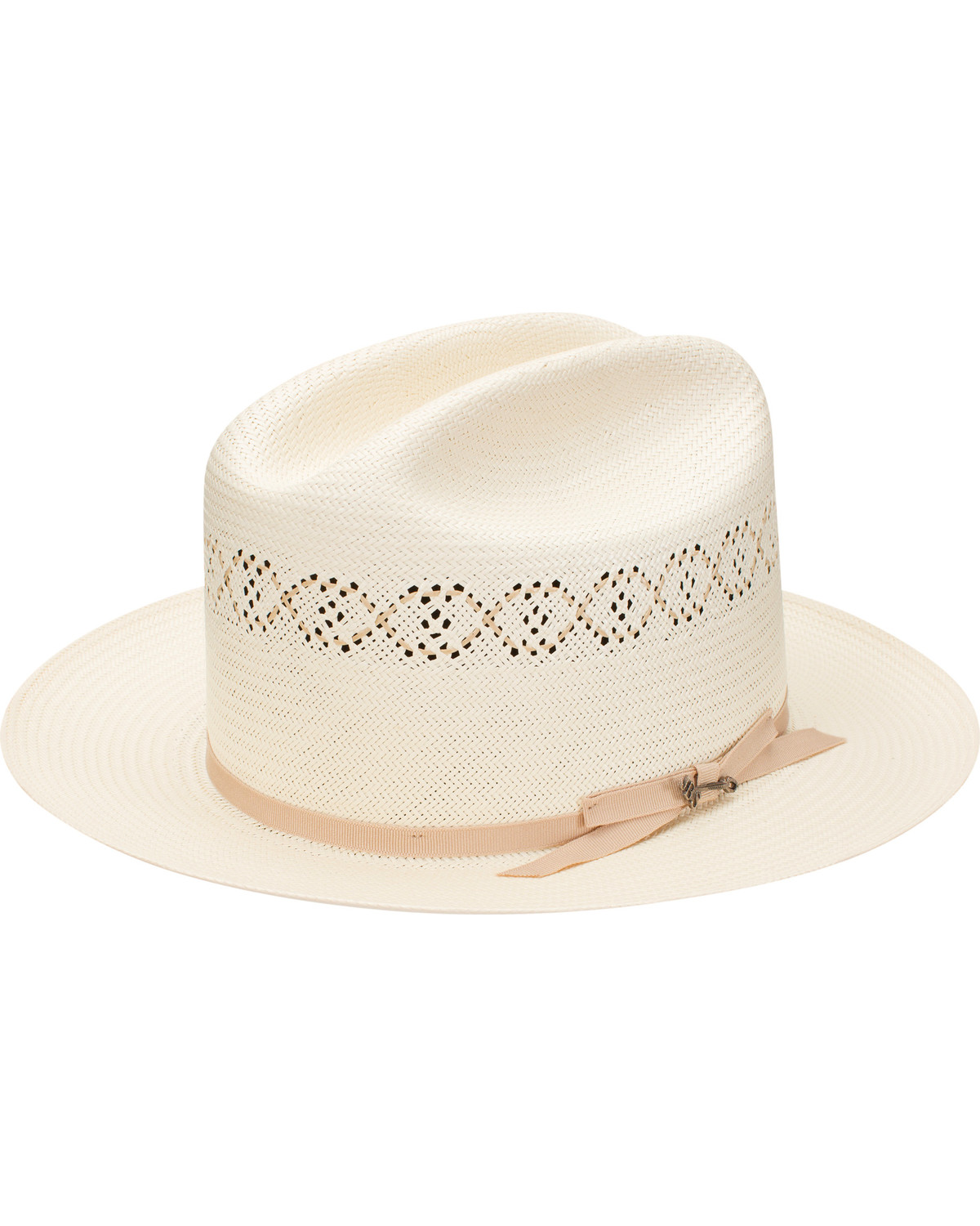 25093135 Stetson Men's Natural Open Road 1 Straw Hat