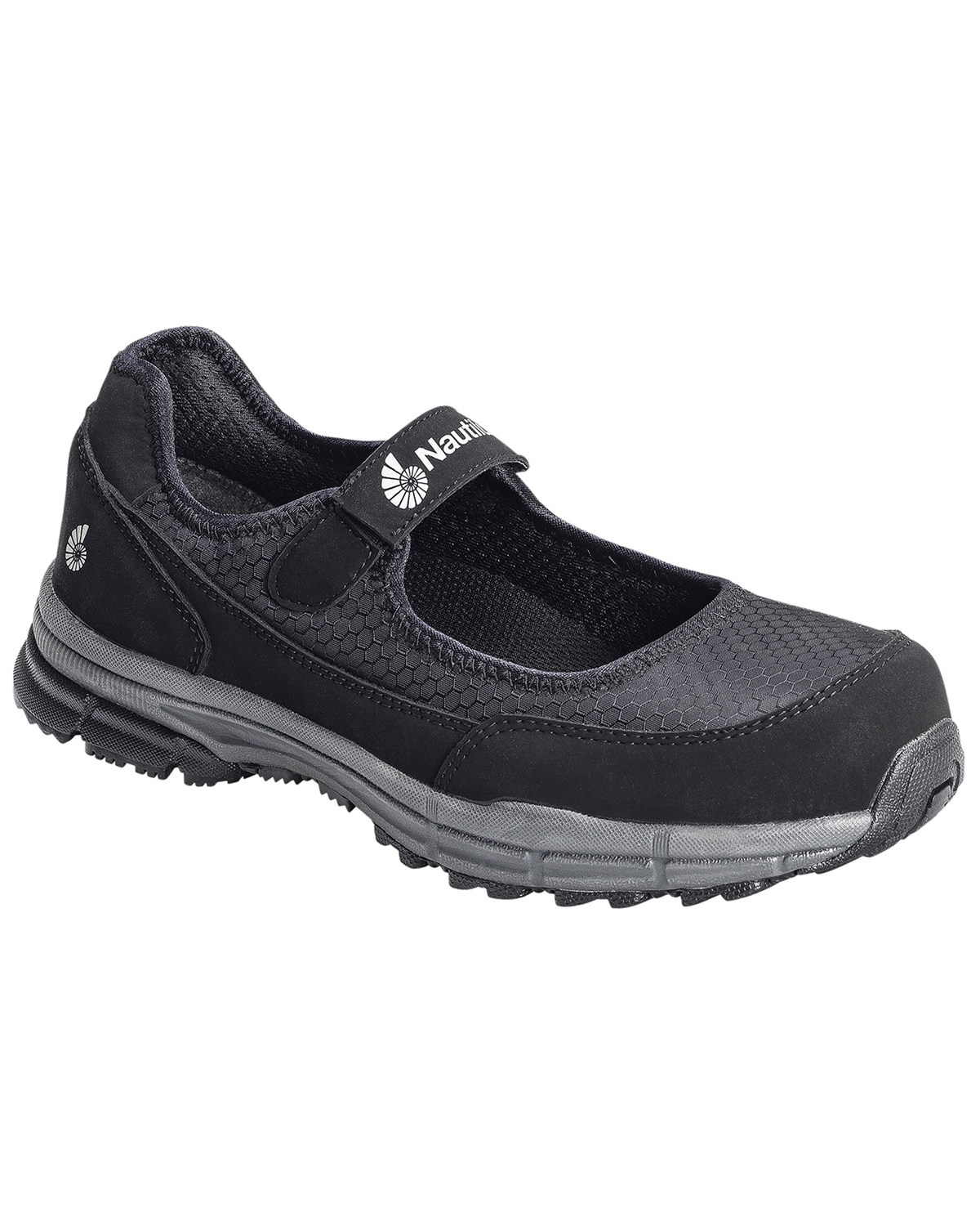 f71980092 Zoomed Image Nautilus Women's Steel Toe ESD Velcro Safety Shoes, Black, ...