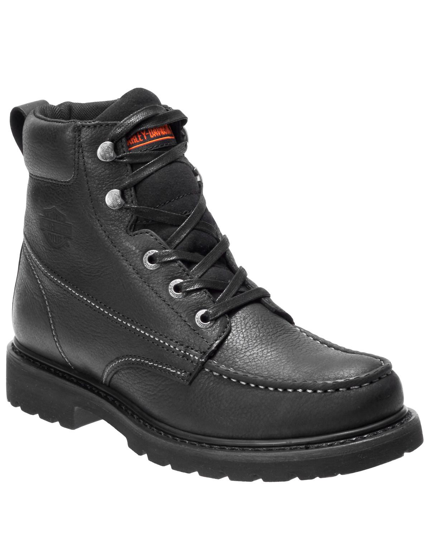 Markston Moto Boots - Moc Toe   Boot Barn