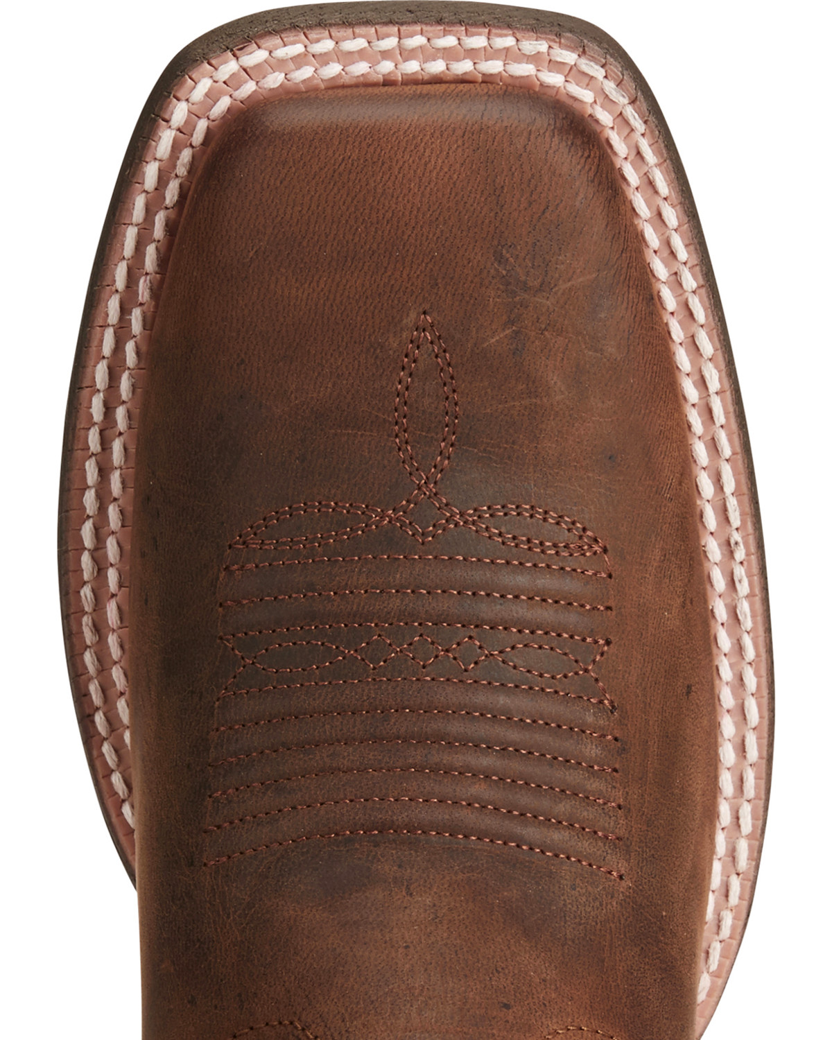 2e43200a121 Ariat Women s Circuit Shiloh Brown Red Cowgirl Boots - Square Toe ...