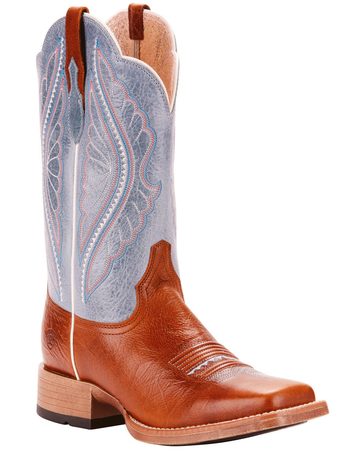 5f49a974c5d54 Ariat Women's Primetime Baby Blue Eyes Performance Cowgirl Boots - Square  Toe