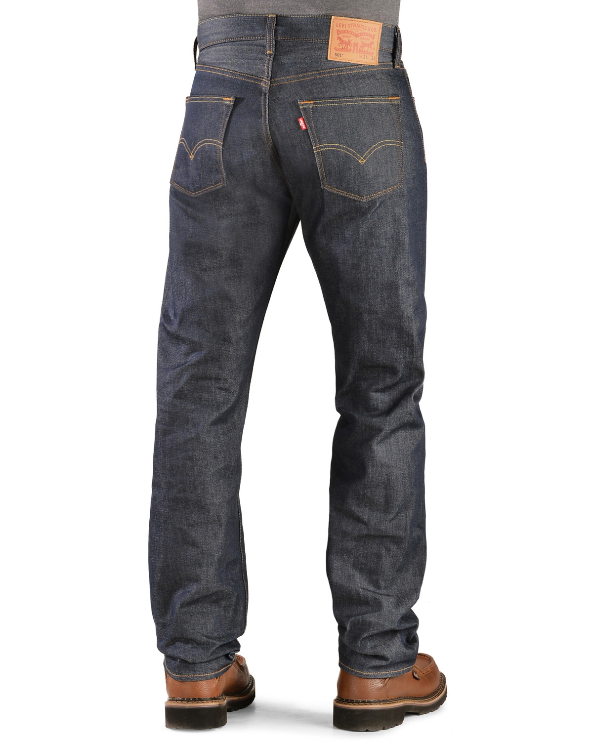 levi 39 s 501 jeans original shrink to fit boot barn. Black Bedroom Furniture Sets. Home Design Ideas