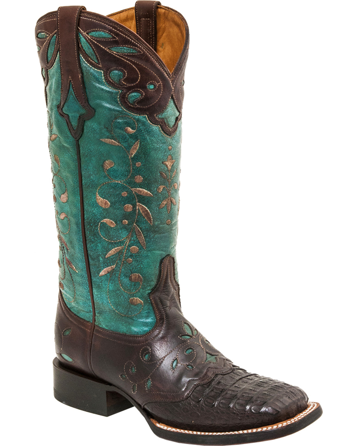 Lucchese Women S Sherilyn Caiman Exotic Boots Boot Barn