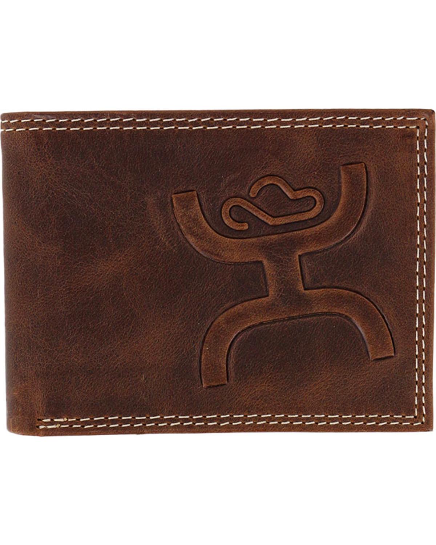 fca7b5d96b8f HOOey Men s Embossed Bifold Wallet