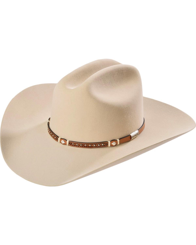 Stetson 6X Monterey Fur Felt Cowboy Hat  55bd0f161f9