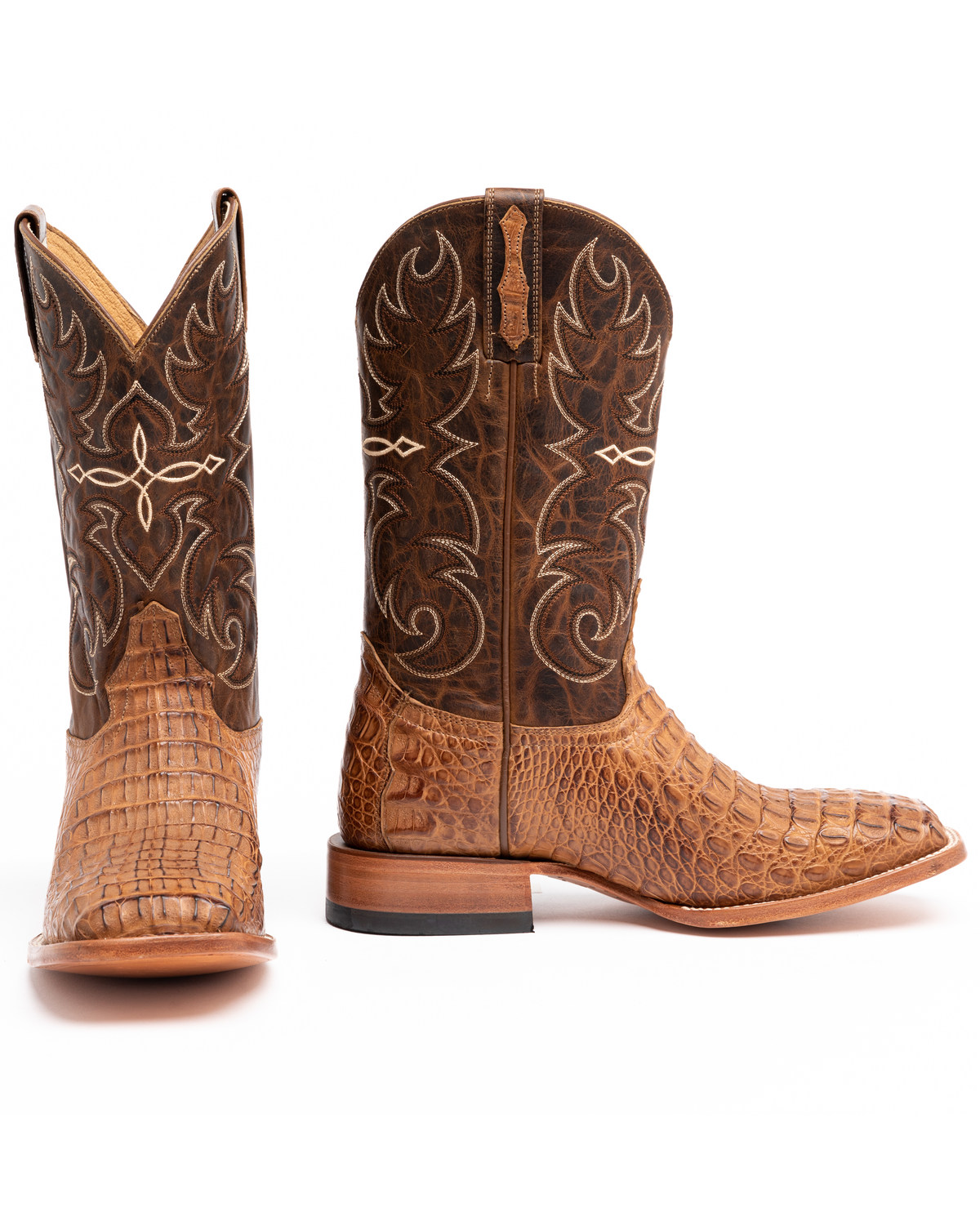 087551f689c Cody James® Men's Burnished Caiman Exotic Boots