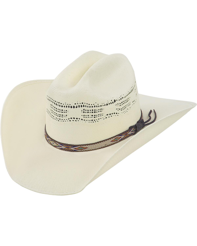 Justin 20X Pueblo Straw Cowboy Hat  2c0427d9691