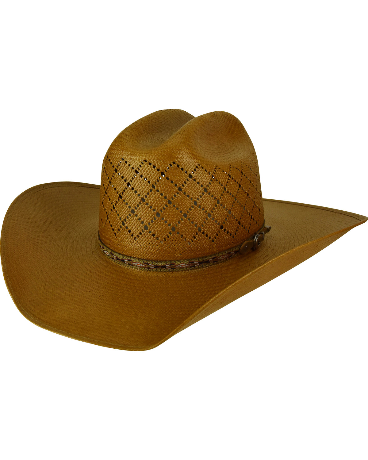 Bailey Men s Ruger II 15X Straw Cowboy Hat  a49cc0dff36