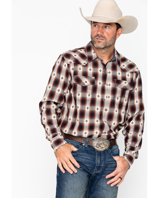 09a5e97e709 Cody James Men s Plaid Long Sleeve Fort Yukon Shirt