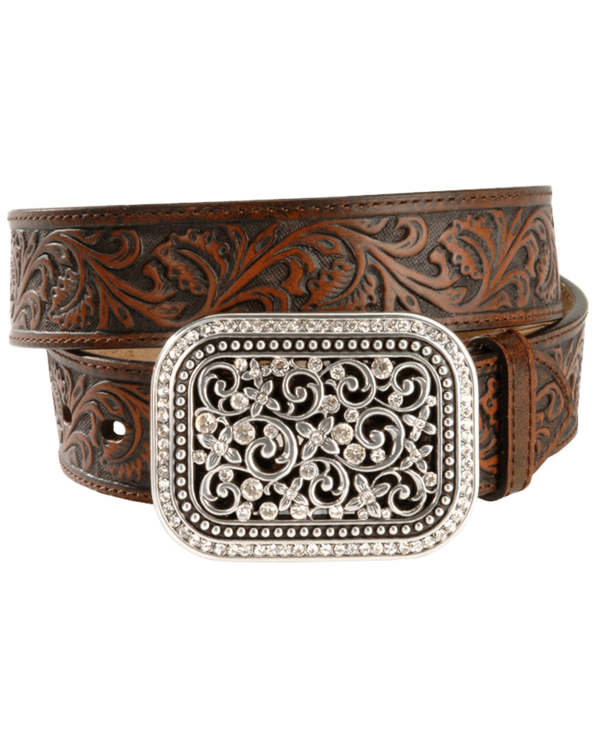 Ariat Women's Tooled Leather Belt | Boot Barn