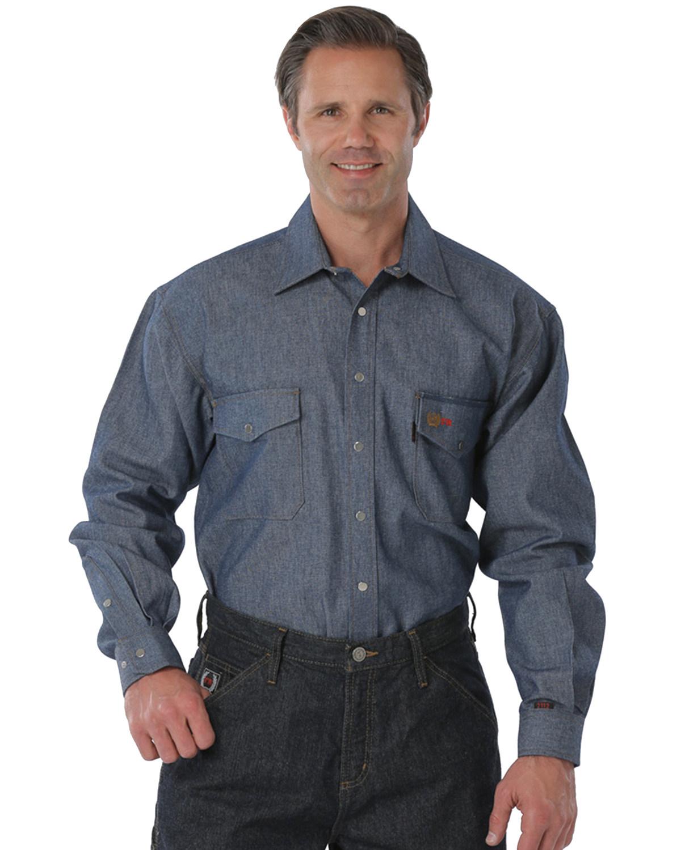 28c1a23c26 Cinch WRX Flame-Resistant Denim Work Shirt