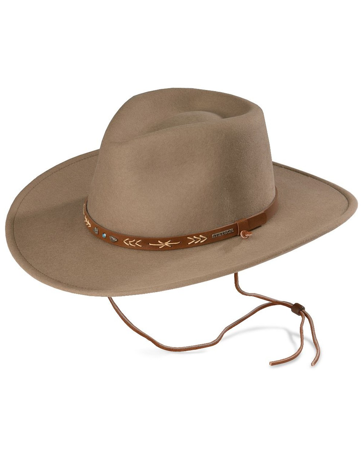 Stetson Santa Fe Crushable Wool Hat  1a51ca33b