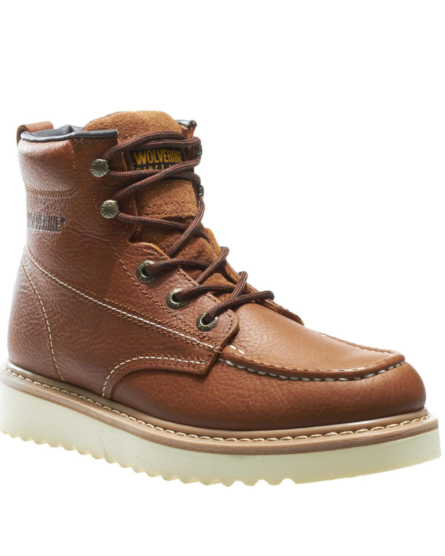 790566698d2 Wolverine Men's Moc Toe Work Boots