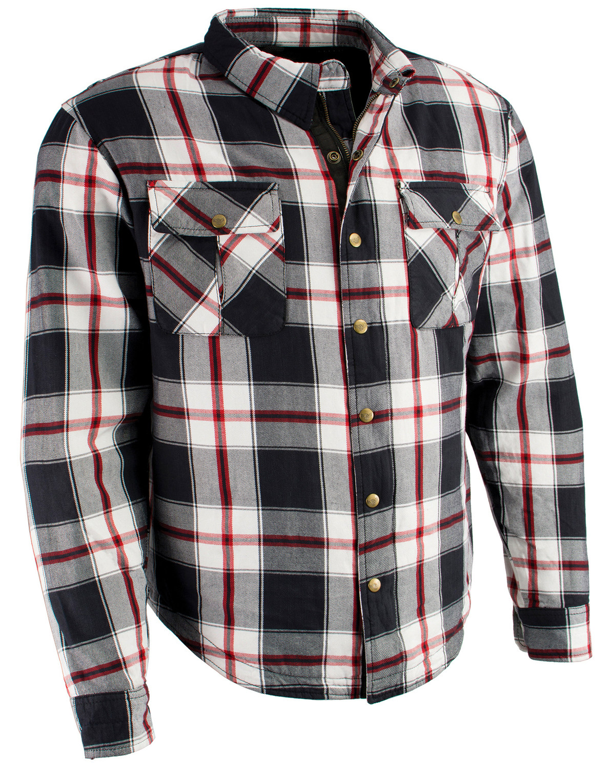 Milwaukee Performance Men S Aramid Reinforced Plaid Flannel Biker