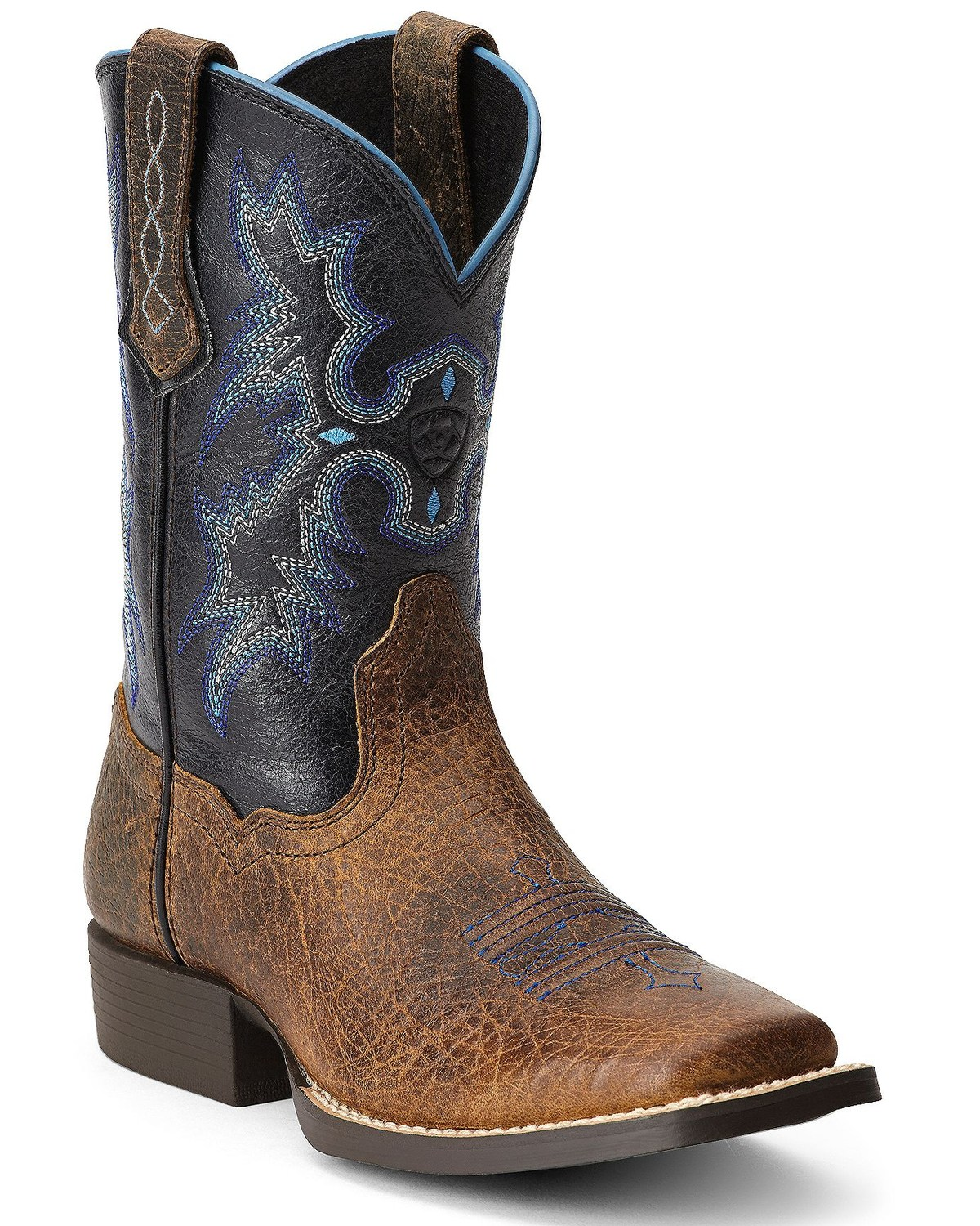 437d23b4d1b Ariat Youth Boys' Tombstone Cowboy Boots - Square Toe