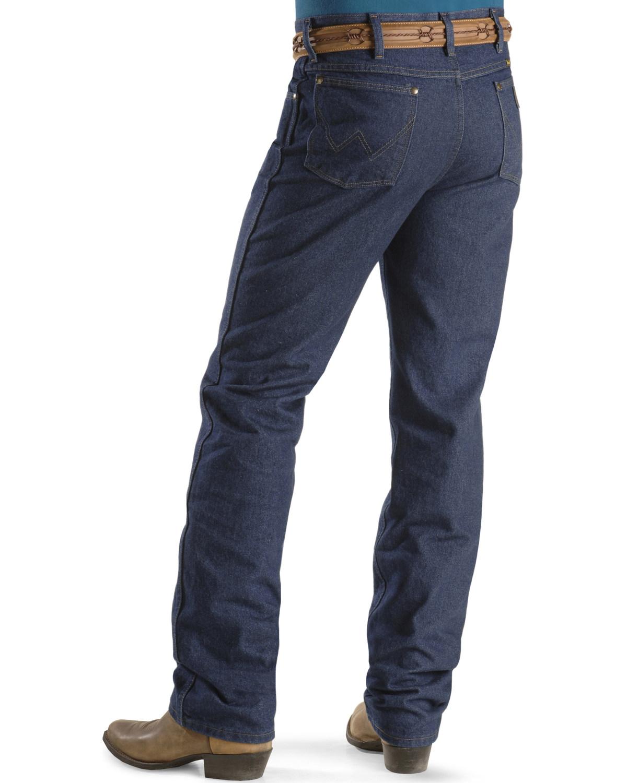 17aa88a3 Zoomed Image Wrangler Jeans - Cowboy Cut 36 MWZ Slim Fit , Indigo, hi-res