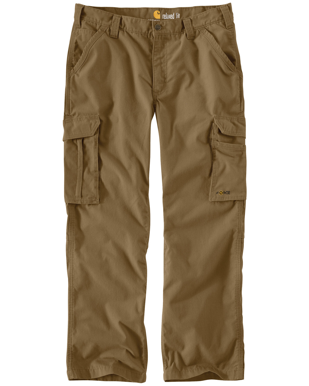 6dbd5afd Zoomed Image Carhartt Men's Force Tappen Cargo Pants, Brown, ...
