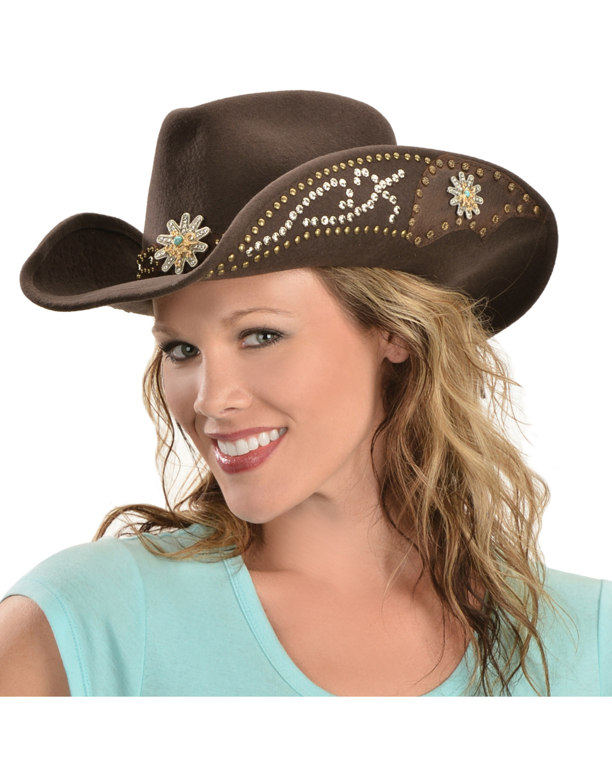 7e70d30b6a36e Zoomed Image Bullhide Women's Your Everything Wool Hat, Chocolate, ...