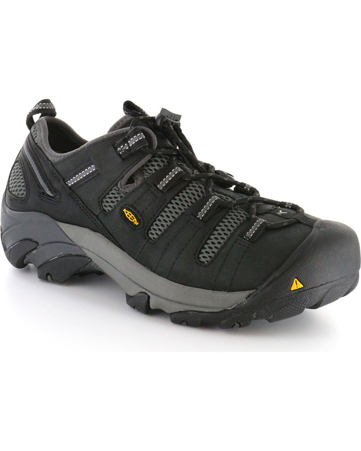 71180372284cff Keen Men s Black Utility Atlanta Cool Work Shoes - Steel Toe