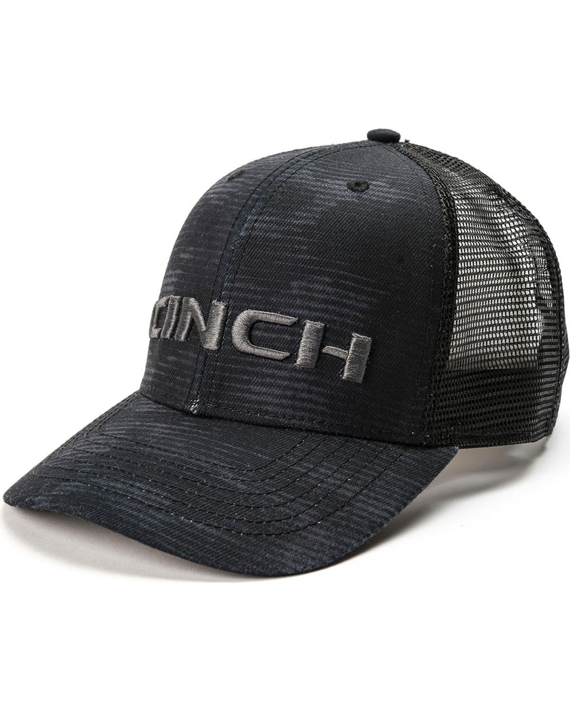 ceb25fd66c948 Cinch Men s Embroidered Logo Mesh Trucker Cap