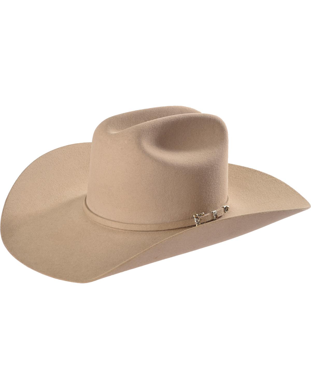 4ba3323210389 Resistol Men s Tan Circuit 6X Felt Cowboy Hat