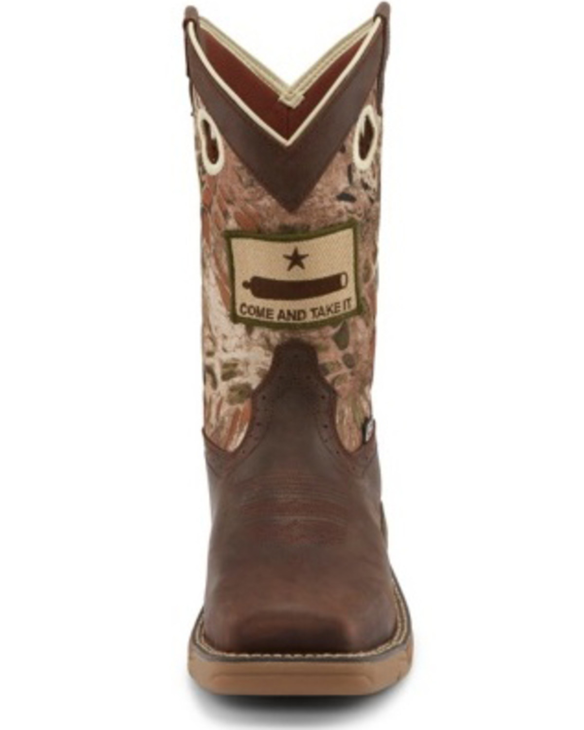 Justin Men S Stampede Grizzly Brown Western Work Boots