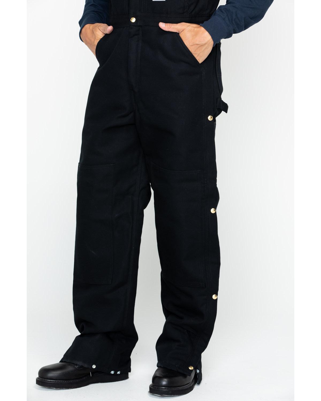 Carhartt Waist Overalls Quilt Lined Best Quilt Grafimageco