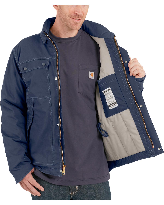 ad8e8944ebe5 Carhartt Men s Flame-Resistant Full Swing Quick Duck Coat