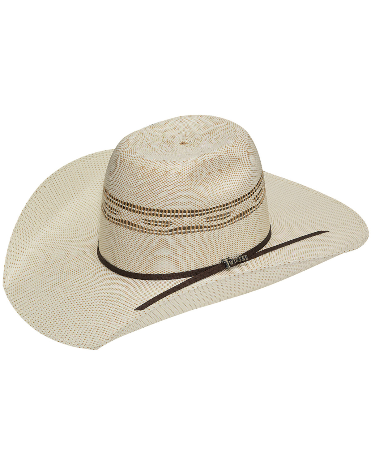 Twister Men s Bangora Straw Cowboy Hat  eb1498d3704