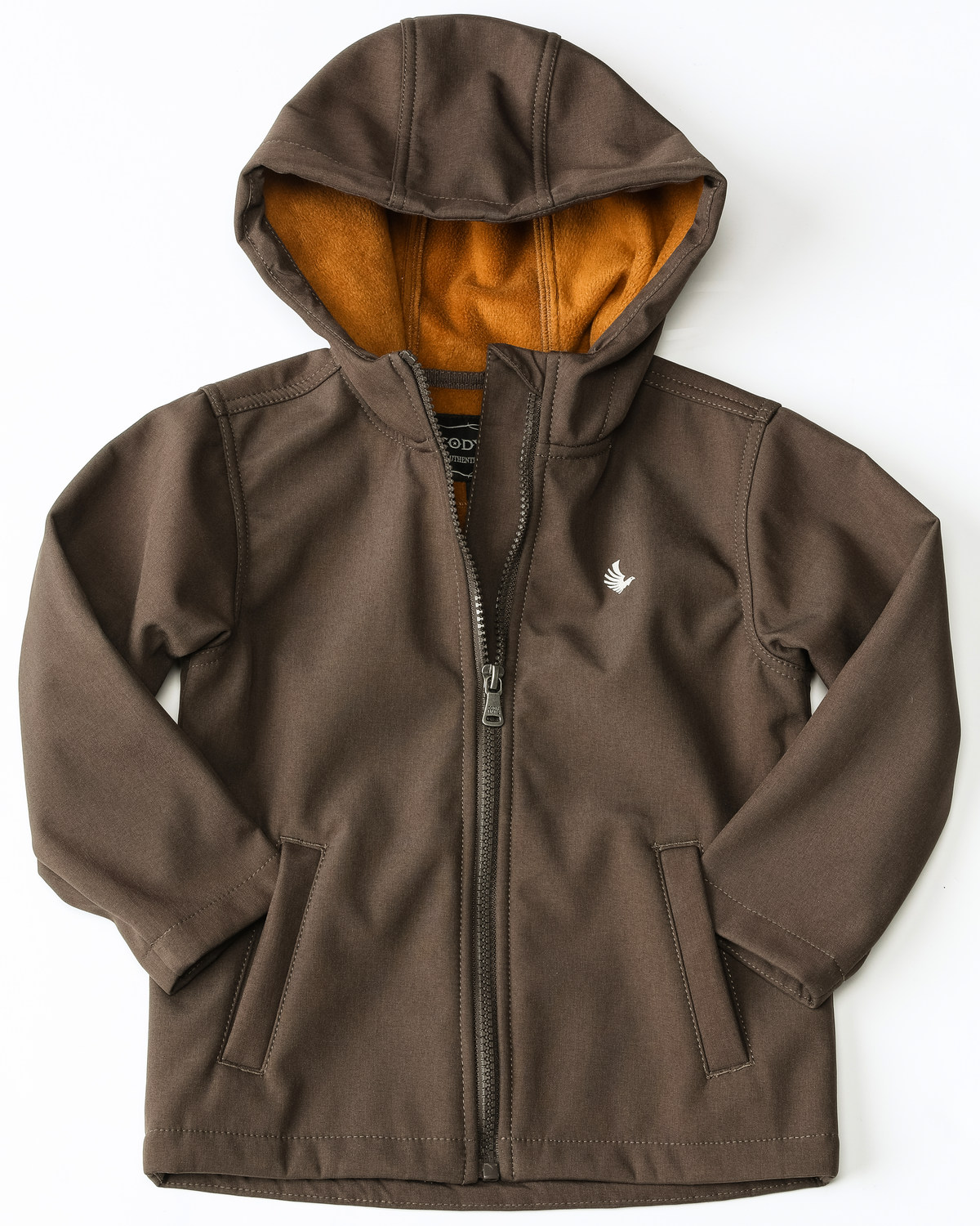 05c988ddf Zoomed Image Cody James Toddler Boys' Snow Cat Hooded Bonded Zip-Up Jacket  , Brown,