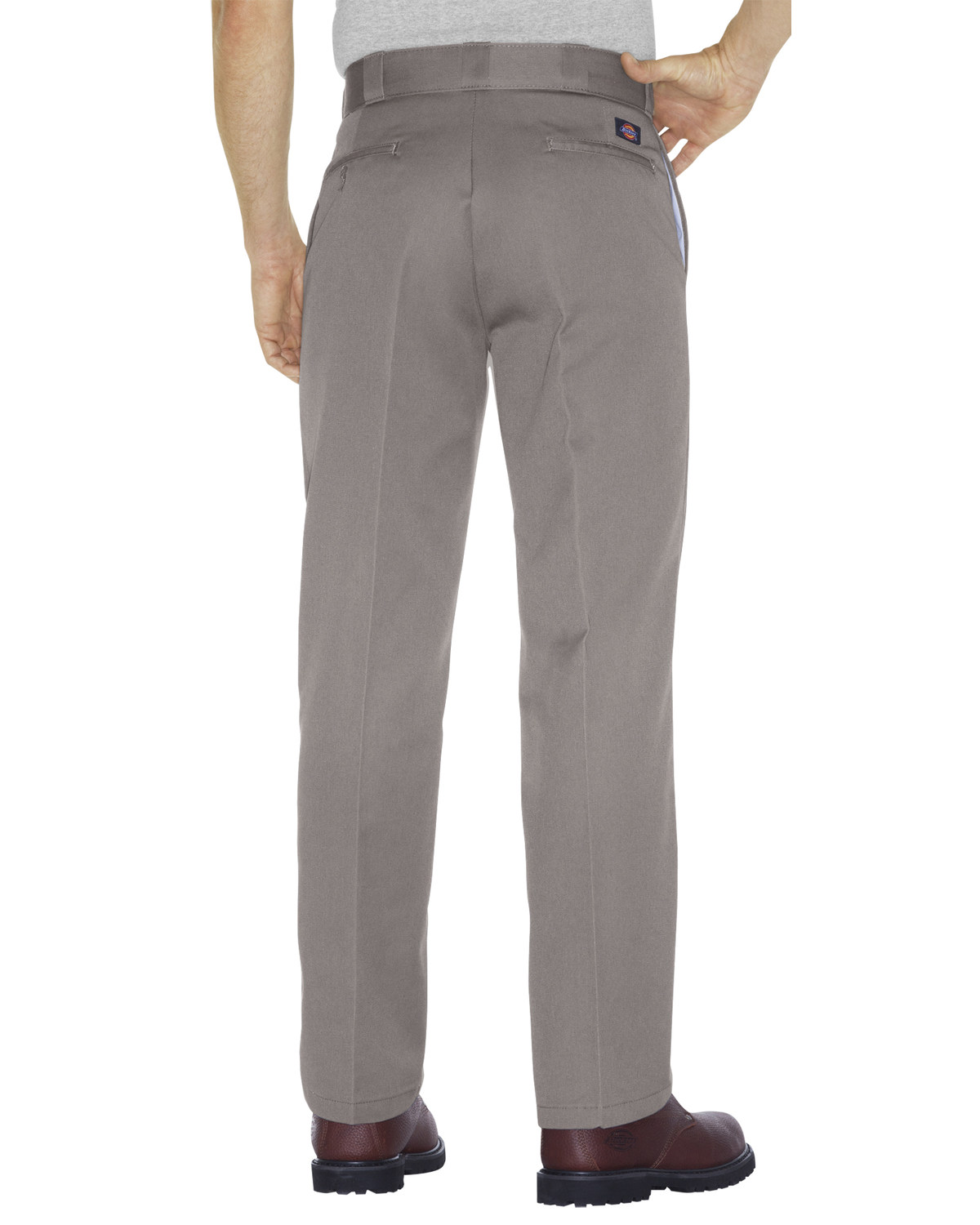 20d59eb148f Zoomed Image Dickies Men's Original 874® Silver Work Pants - Big & Tall,  Silver, ...