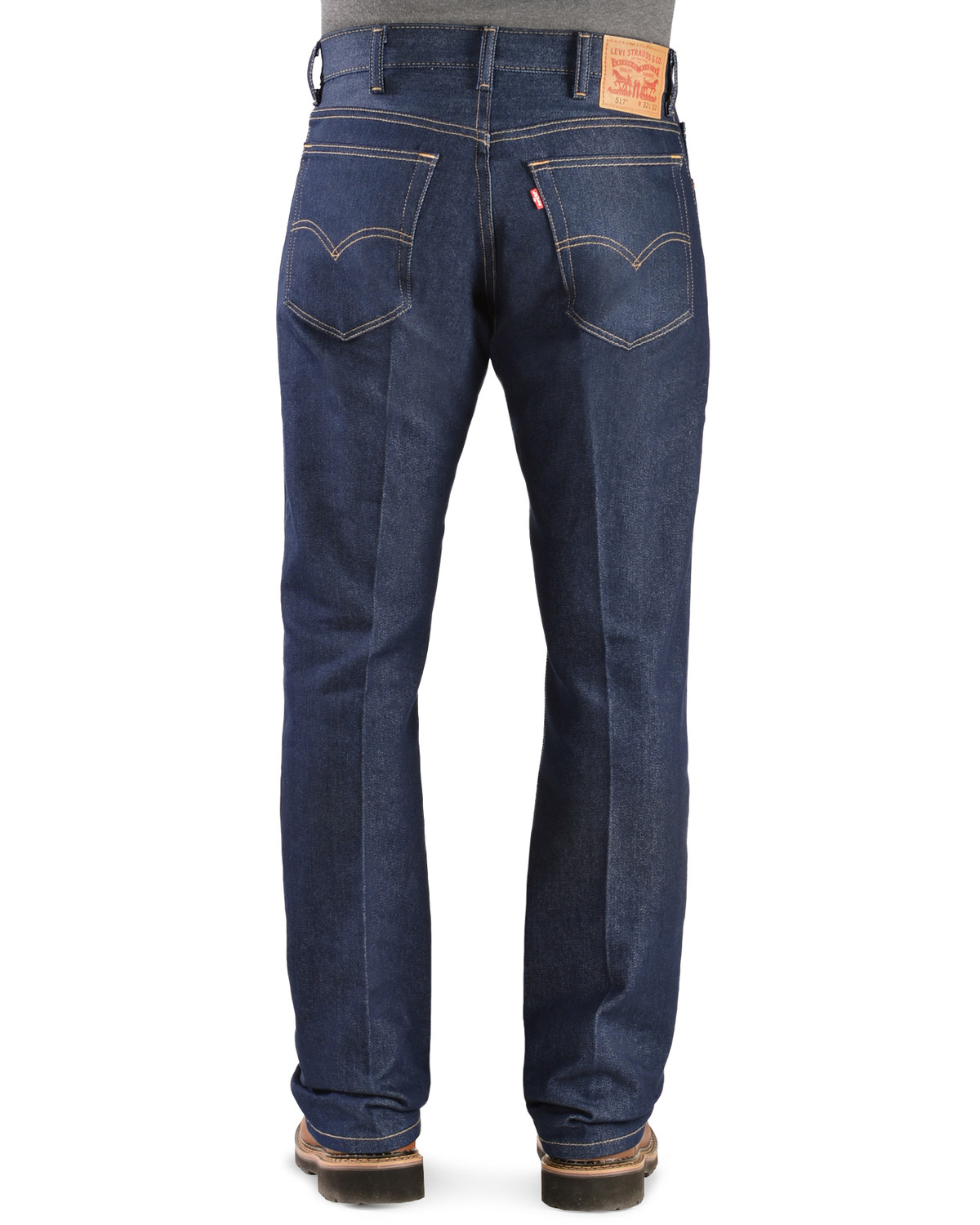 a7ec2f332c2 Zoomed Image Levi's 517 Jeans - Boot Cut Stretch, Indigo, ...