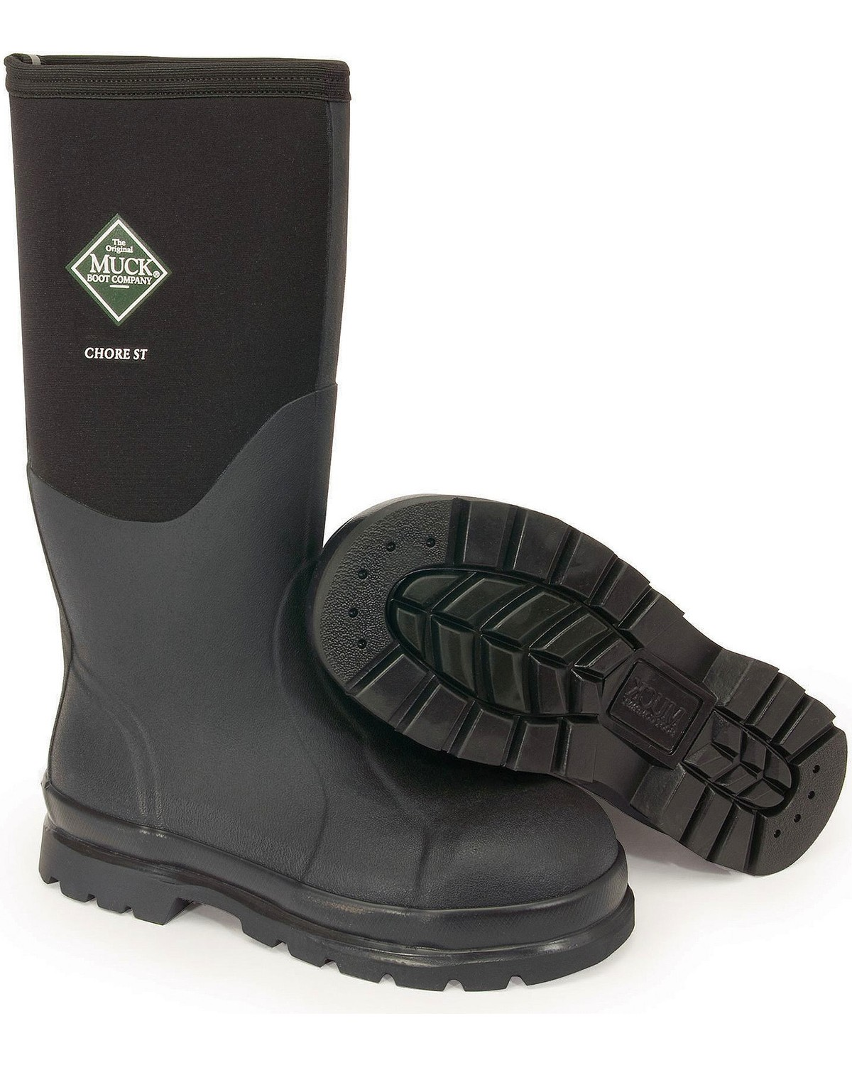 39959916025 The Original Muck Boot Co. Chore Steel Toe Work Boots