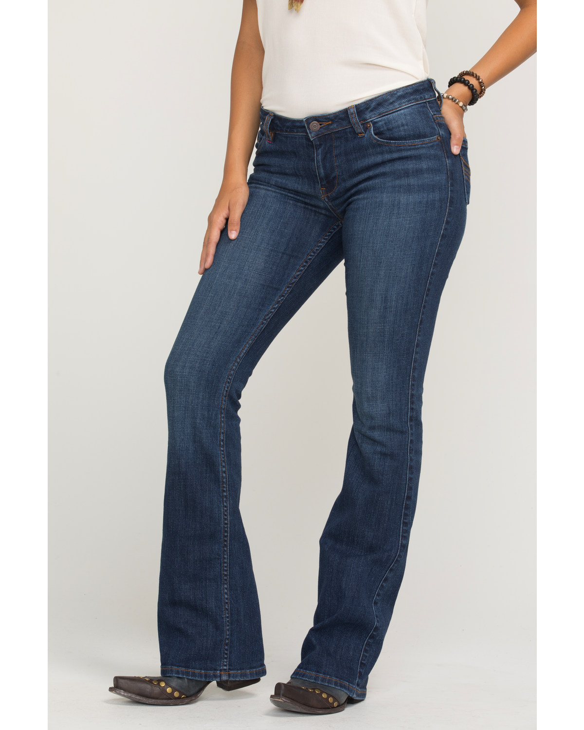 cad3d1a4 Zoomed Image Idyllwind Women's The Rebel Bootcut Jeans, Blue, ...