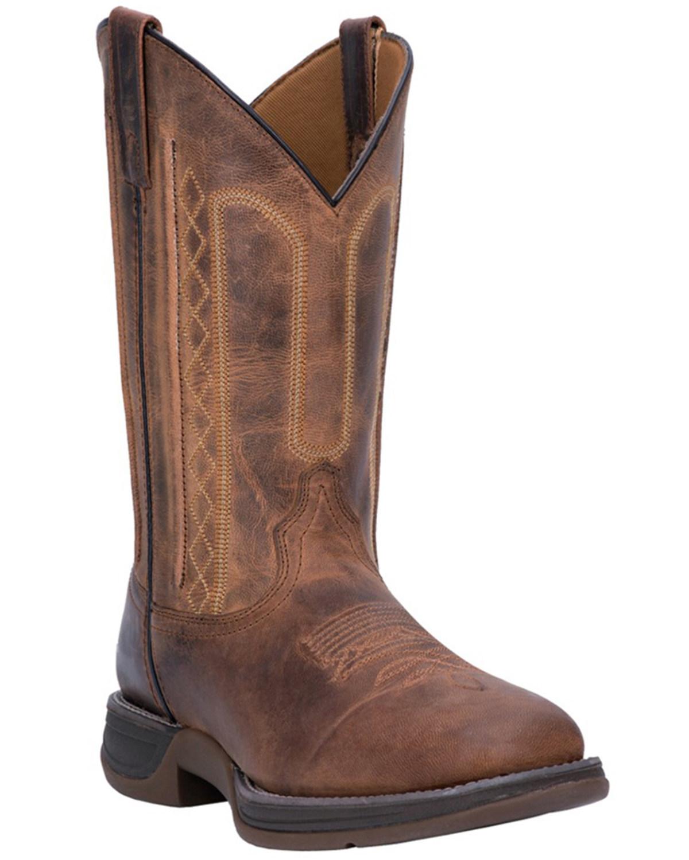 cd4f6de73ea Laredo Men's Bennett Broad Square Toe Western Boots