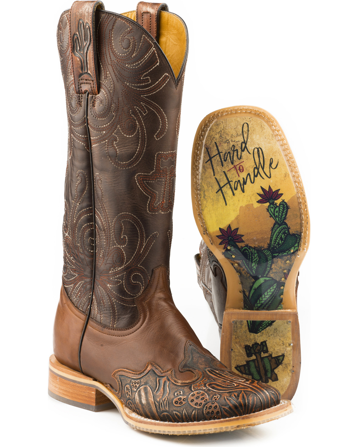 Hard To Handle Sole Cowboy Boots